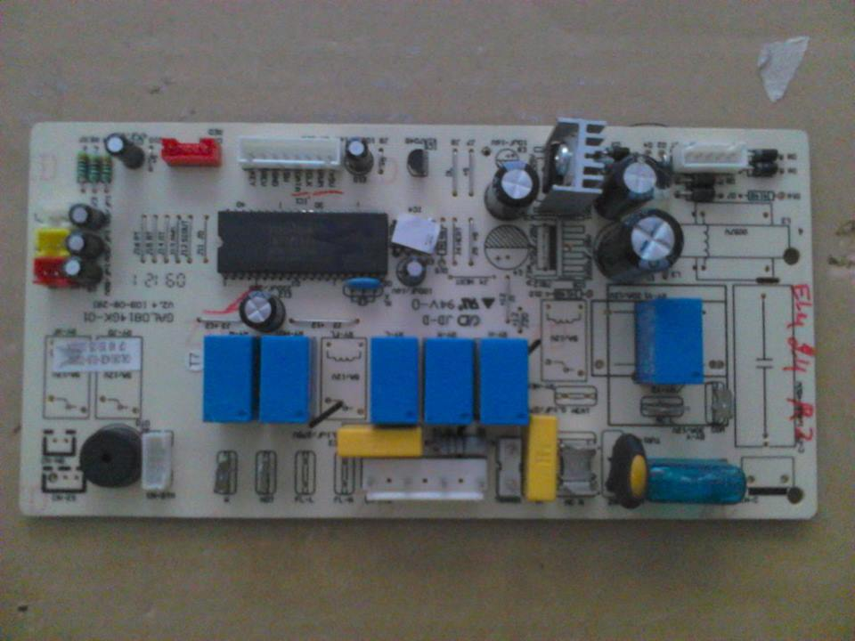 EXCEL-GALANZ PCB IN INVERTER  24 GAL0814GK-01R-T0201